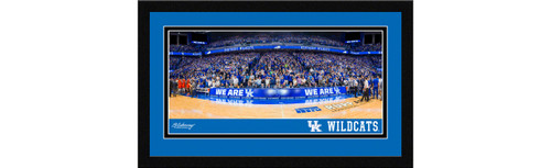 Kentucky Wildcats Basketball Framed Panoramic Picture - Rupp Arena