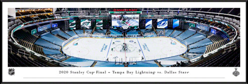 2020 Stanley Cup Final Panoramic Picture - Tampa Bay Lightning vs. Dallas Stars