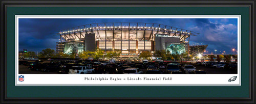 Philadelphia Eagles Panoramic Fan Cave Poster - Lincoln Financial Field Picture