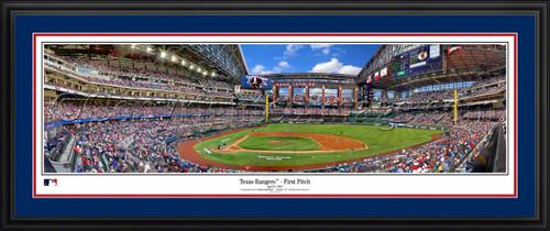 Texas Rangers Panoramic Picture - Globe Life Field MLB Wall Decor