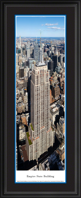 Empire State Building Panoramic Wall Decor