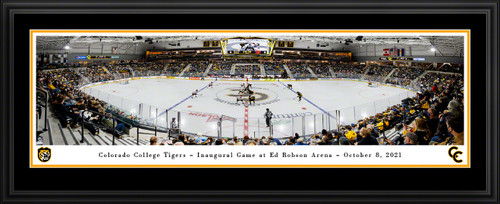 Colorado College Tigers Hockey Panoramic Picture - Ed Robson Arena Wall Decor