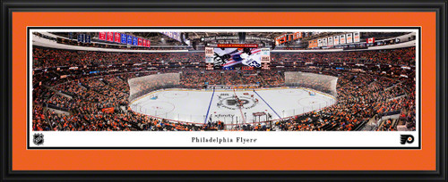 Philadelphia Flyers Panoramic Picture - Wells Fargo Center NHL Fan Cave Decor