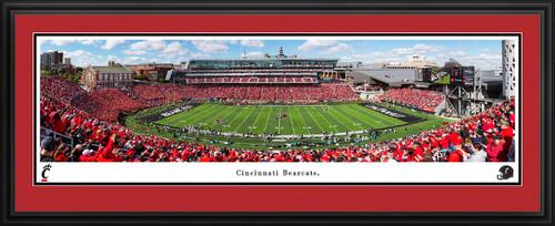Cincinnati Bearcats Football Panoramic Picture - Nippert Stadium Fan Cave Decor