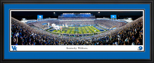 Kentucky Wildcats Football Panoramic Picture - Kroger Field Fan Cave Decor
