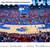 Kansas Jayhawks Basketball Panoramic Poster - Allen Fieldhouse Fan Cave Decor