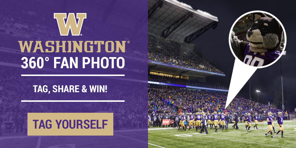 Tag Yourself in the Washington Huskies Gigapixel Fan Photo