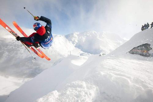5D Diamond Painting Orange Ski Jumper kit