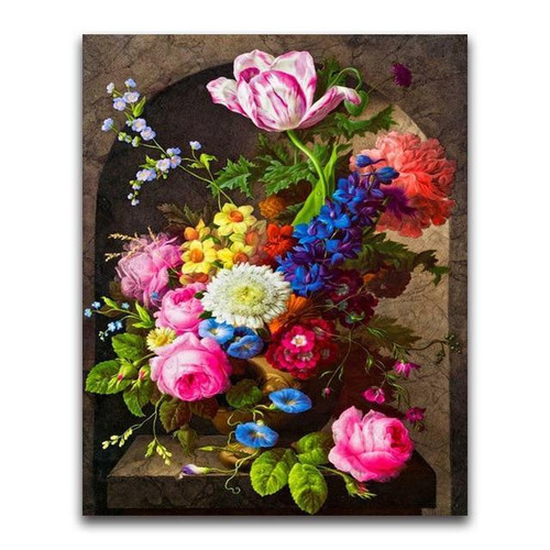 5D Diamond Painting Flowers Under the Arch Kit