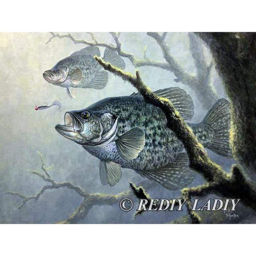 5D Diamond Painting Fish and Bait Kit