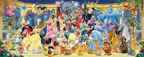 5D Diamond Painting Mickey's Reunion Photo Kit