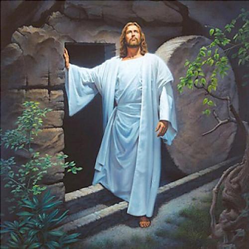 5D Diamond Painting Jesus Leaves the Tomb Kit