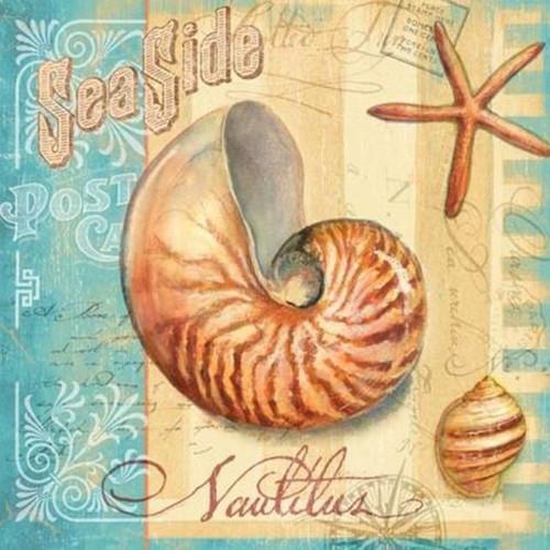 5D Diamond Painting Sea Side Postcard Kit