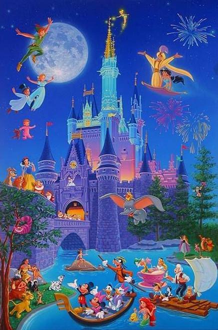 5D Diamond Painting Mickey Mouse Disney Castle Kit