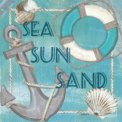 5D Diamond Painting Sea Sun and Sand Kit