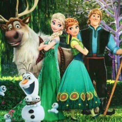 5D Diamond Painting Elsa and Anna Back to Back Kit