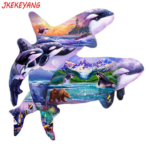5D Diamond Painting Orca Collage Kit
