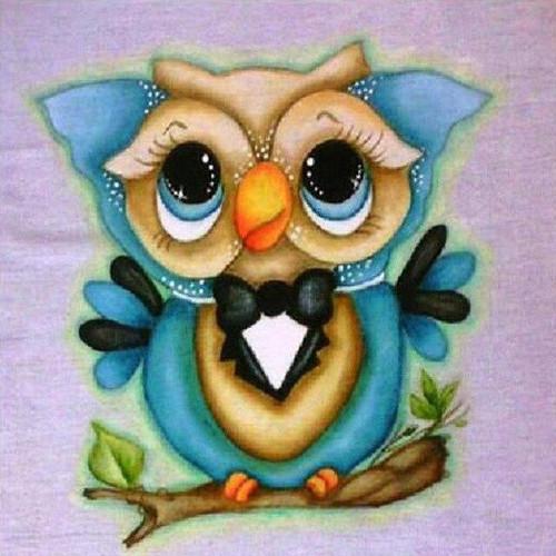 5D Diamond Painting Bow Tie Owl Kit
