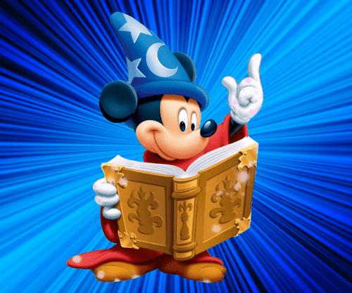 5D Diamond Painting Wizard Mickey Magic Book Kit