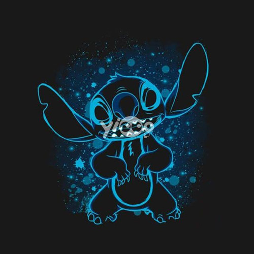 5D Diamond Painting Blue Outline Stitch Kit