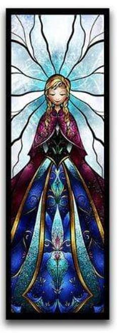 5D Diamond Painting Abstract Anna from Frozen Kit