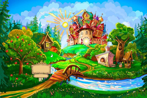 5D Diamond Painting Land of Leprechauns Kit