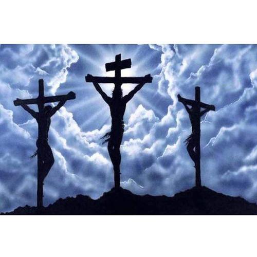5D Diamond Painting Jesus on the Cross Kit