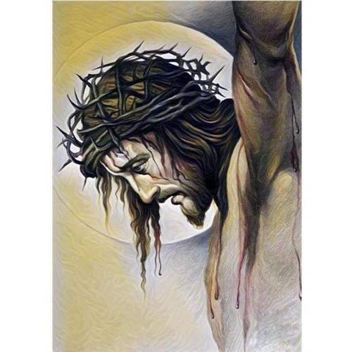 5D Diamond Painting Jesus Hanging on the Cross Kit