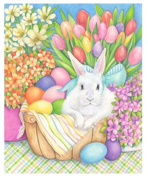 5D Diamond Painting Pastel Easter Eggs Kit