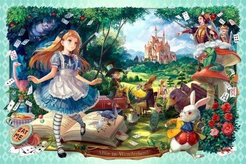 5D Diamond Painting Alice in Wonderland Collection Kit
