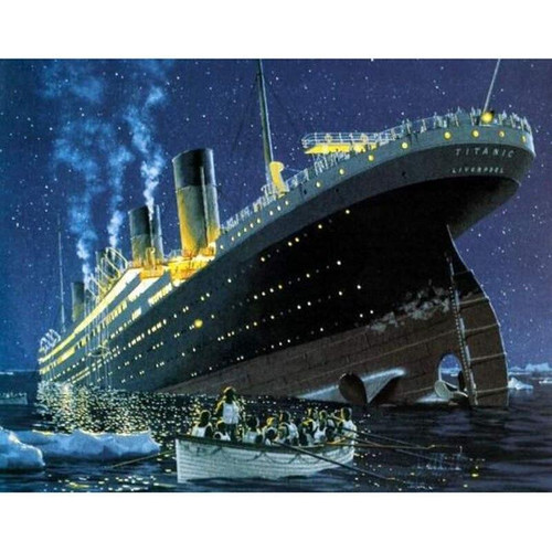5D Diamond Painting Titanic Kit