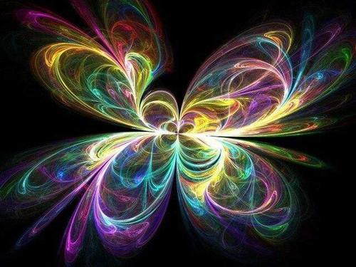 5D Diamond Painting Abstract Butterfly Swirls Kit