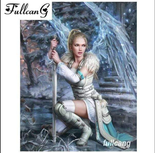 5D Diamond Painting Super Guardian Angel Kit