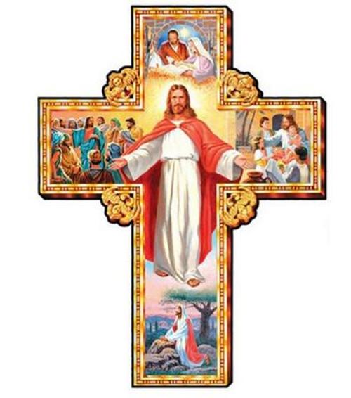 5D Diamond Painting Life of Jesus Cross Kit