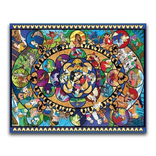 5D Diamond Painting Gold Mickey Ear Collage Kit