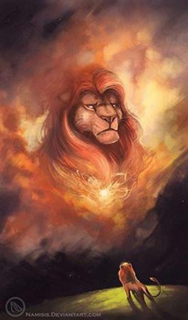 5D Diamond Painting Lion King Mufasa Kit