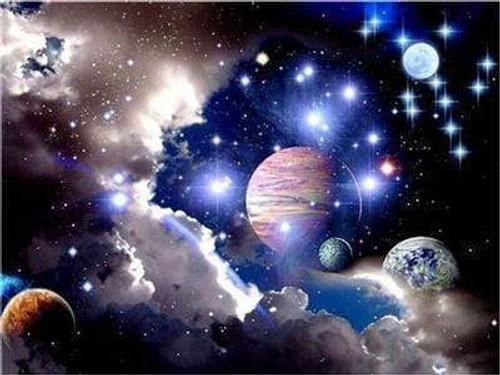 5D Diamond Painting Planets Kit