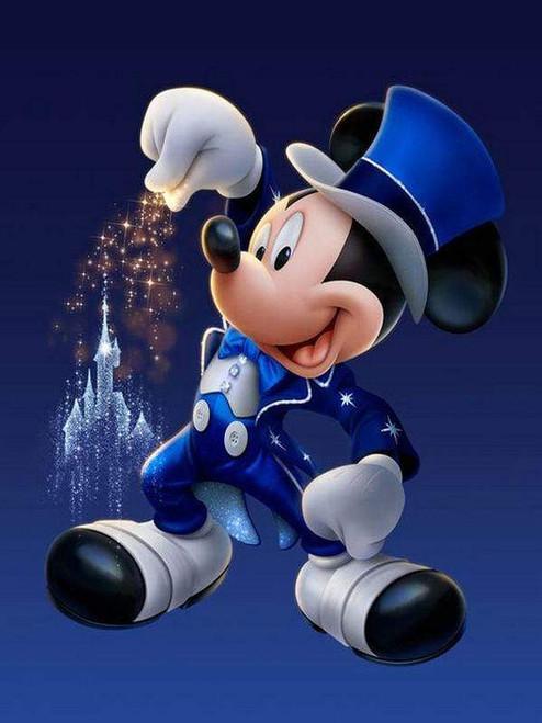 5D Diamond Painting Mickey Top Hat Magic Kit