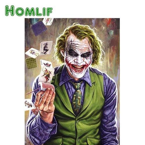 5D Diamond Painting Joker Card Trick Kit