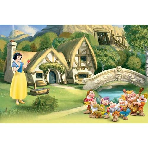 5D Diamond Painting Snow White Apple Kit