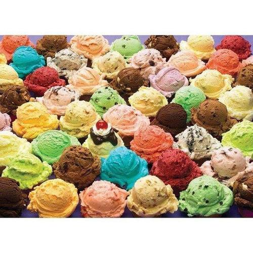 5D Diamond Painting Ice Cream Flavors Kit