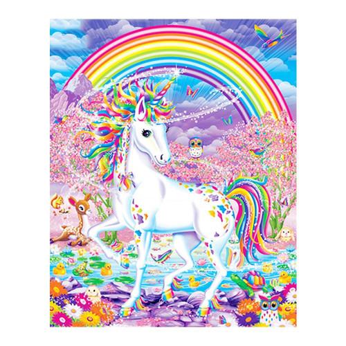 5D Diamond Painting Rainbow Unicorn & Animals Kit