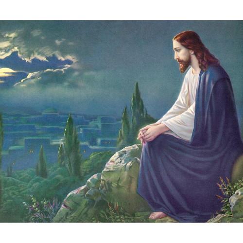 5D Diamond Painting Jesus on the Mountain Top Kit