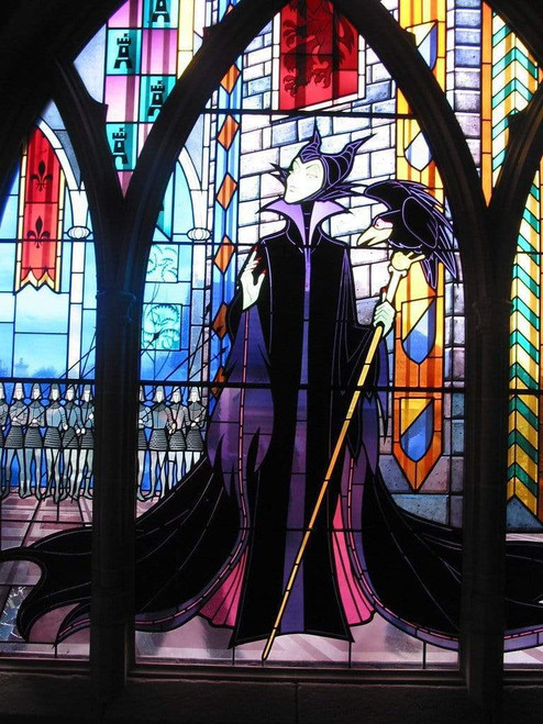 5D Diamond Painting Maleficent and her Crow Kit
