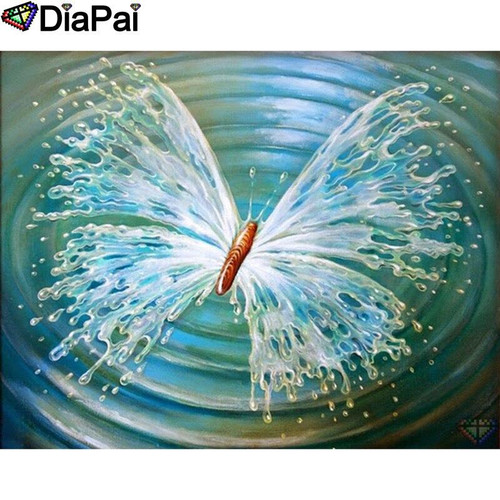 5D Diamond Painting Water Wing Butterfly Kit