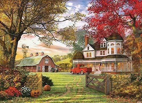 5D Diamond Painting Barn and Farmhouse Kit