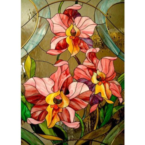 5D Diamond Painting Abstract Irises Kit