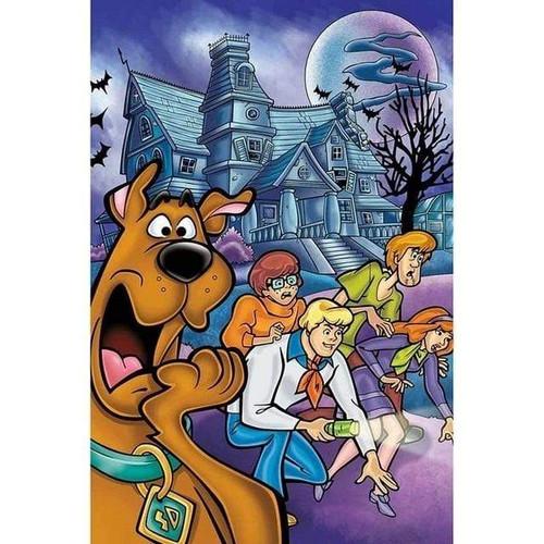 5D Diamond Painting Haunted House Scooby Doo Kit