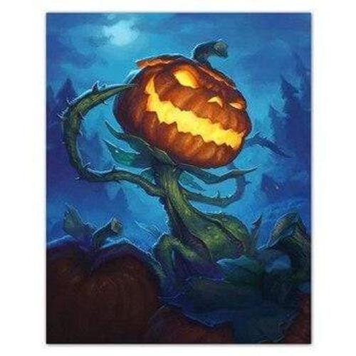 5D Diamond Painting Pumpkin Monster Kit