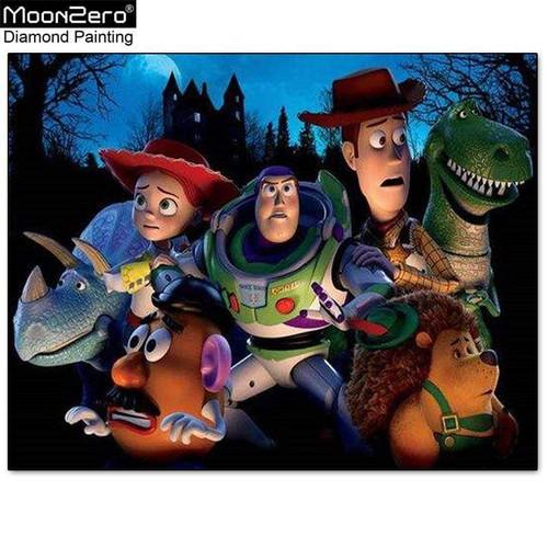 5D Diamond Painting Toy Story Night Fright Kit